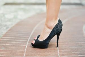 High Heels At Work