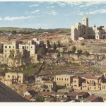 Panoramic view of St Andrews and old St John Of Jerusalem Eye Hospital
