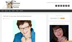 The Business Success Factory  Podcast 069